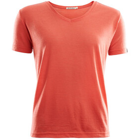 Aclima Lightwool T-Shirt Loose Fit Women burnt sienna
